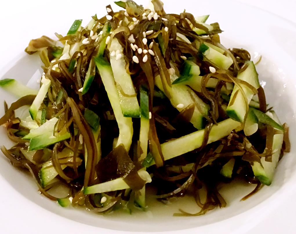 Sea -weed salad