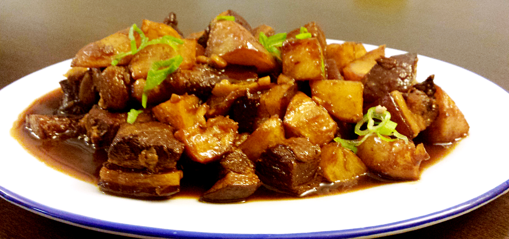 Hong Shao Rou with potatoes